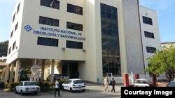 Instituto de Oncología y Radiobiología en La Habana.