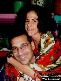 Antonio Rodiles y su pareja, Ailer Gonzalez, directora artística de Estado de Sats