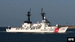 Barco del servicio guardacostas de EEUU. Archivo.