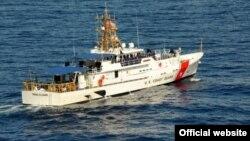 El escampavías Paul Clark de la Guardia Costera, con base en Miami Beach