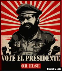Pancarta política del Tropico 1