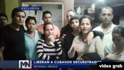 Once migrantes cubanos de la provincia de las Tunas fueron secuestrados y luego liberados en Reynosa, México.