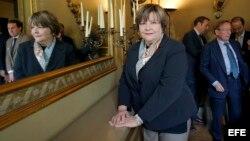 Foto de archivo de la ex presidenta del Tribunal Supremo de Venezuela, Cecilia Sosa.