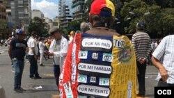 Venezolanos usan la imaginación para protestar contra el régimen de Maduro