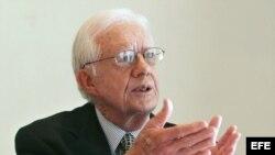 Jimmy Carter, ex presidente de Estados Unidos.