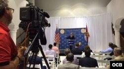 Ben Rhodes, asesor de seguridad nacional del presidente de EEUU, Barack Obama.