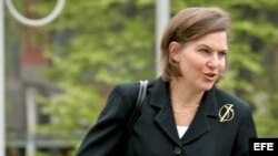 La portavoz del Departamento de Estado, Victoria Nuland. EFE/Stf.