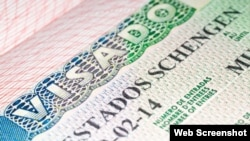 El visado Schengen para entrar a los Países Bajos.