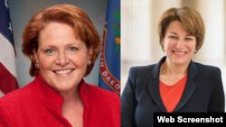 Senadoras estadounidenses de Minnesota y Dakota del Norte quieren mayor acercamiento con el Gobierno comunista de Cuba.
