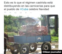 Reporta Cuba. Preparativos para la Navidad.