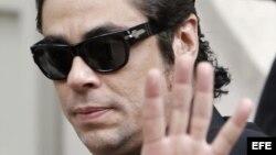 El actor Benicio del Toro.