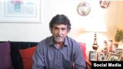 Ernesto Santana Saldívar, escritor y periodista independiente cubano. (Foto tomada de YouTube).