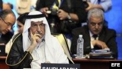 El rey Abdullah de Arabia Saudí. Archivo.