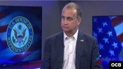 El congresista cubanoamericano Mario Diaz-Balart, en entrevista con TV Martí.