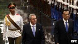 Primer ministro chino visita Cuba