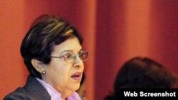 Lina Pedraza.Ministra de Finanzas y Precios.