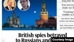 The Sunday Times sobre filtraciones de Snowden.
