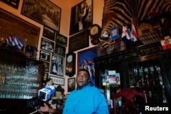 Carlos Cristóbal Márquez, dueño del restaurante San Cristóbal en el que cenó la familia Obama cuando visitó La Habana.
