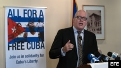 El líder del Directorio Democrático Cubano, Orlando Gutiérrez. (Archivo)