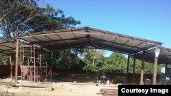 """Destruido lugar de oración de la Iglesia """"Fuego y Dinámica"""" en Camagüey"""