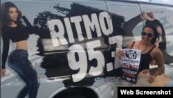 La emisora Ritmo 95.7FM Cubatón y Más.