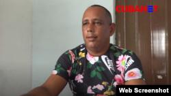 Roberto Perdomo, activista y periodista independiente cubano.