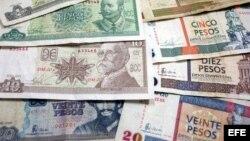 En Cuba circulan dos monedas, el CUP, en el que la mayoría de la población recibe su salario mensual, y el CUC, moneda convertible en divisa.