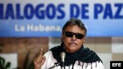 El integrante de las FARC, Jesús Santrich. EFE