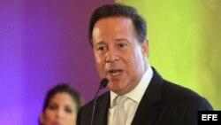 El presidente de Panamá, Juan Carlos Varela. Archivo.