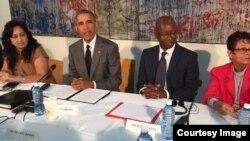 Detenciones, arrestos domiciliarios y encuentro de Obama con la sociedad civil