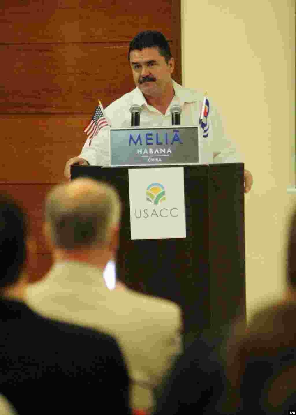 El director de Política Comercial con América del Norte del Ministerio de Comercio Exterior e Inversión Extranjera (MinCex), Pedro Luis Padrón.