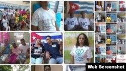 Miembros de UNPACU en huelga de hambre