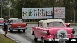 Régimen cubano arrecia campaña por aprobación de referendo