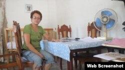 Meibol Sánchez Mujica, madre del preso Enmanuel Abreu