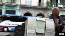 En La Habana los agentes inmobiliarios venían trabajando hace años en el Paseo del Prado de manera informal.