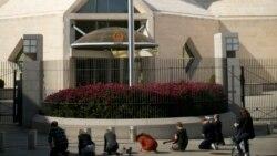 Embajada de China en Washington. (Archivo/REUTERS/Benjamin Myers)