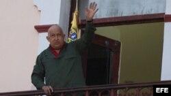 Chávez en Miraflores