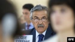 Embajador de Siria, Faysal Jabbaz