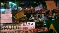 Refuerzan reclamos las principales centrales sindicales de Brasil