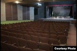 Teatro del ex colegio teresiano en Camagüey.