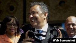 Tedros A. Ghebreyesus, director general de la OMS, participa en La Habana en foro de salud.