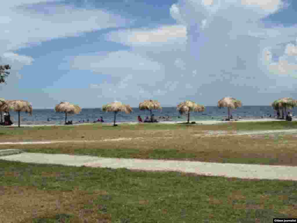 Reporta Cuba playa de Caibarién foto cristianosxcuba