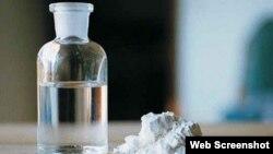 Gamma-Hidroxibutirato (GHB). (Foto: StreetDrogs.org)