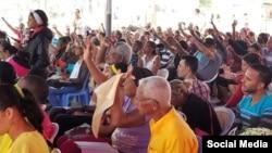Ministerio Sendas de Justicia, en Santiago de Cuba, que preside Alaín Toledano Valiente. (Foto: Facebook)