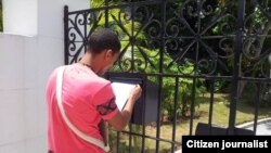 Reporta Cuba. LGTBI entregan carta al Papa.