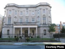 La Sección de Intereses de Cuba en la calle 16 de Washington D.C. se convertirá en embajada.