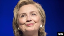 Hillary Clinton anuncia su candidatura a la Presidencia.