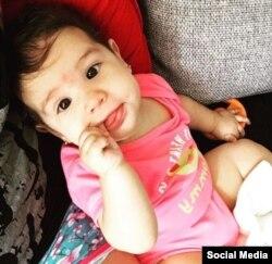 Una de las fotos de Paloma publicadas por Yaima Caballero Peralta en su cuenta de Instagram.