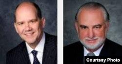 Augusto Maxwell y Pedro Freyre (i-d), de la firma de abogados Akerman.