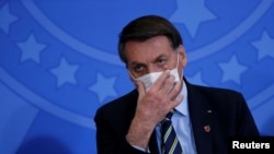 Jair Bolsonaro. REUTERS/Adriano Machado/File Photo